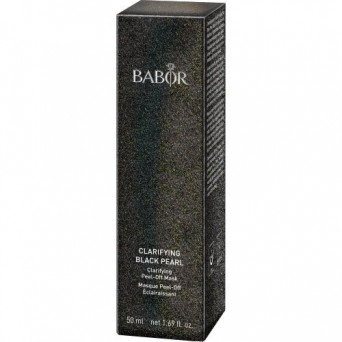 BABOR Clarifying Black Pearl peel-off mask